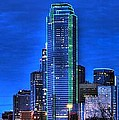 Dallas Skyline Hd by Jonathan Davison