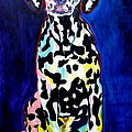 Dalmatian - Polka Dots by Alicia VanNoy Call