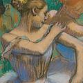 Dancer Adjusting Her Shoulder by Edgar Degas