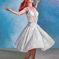 Dancer In White by Paul Krapf