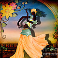 Dancer Of The Balcony by Bedros Awak