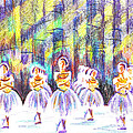 Dancers In The Forest by Kip DeVore