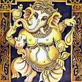 Dancing Ganesh by Vishwajyoti Mohrhoff