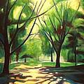 Dancing Shadows Print by Sheila Diemert