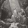 Daniel in the Den of Lions by Gustave Dore