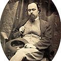 Dante Gabriel Rossetti English Poet by Photo Researchers