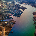 Daugawa River. Riga. Latvia. Rainbow Earth by Jenny Rainbow