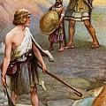 David And Goliath by Arthur A Dixon