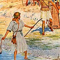 David And Goliath by William Henry Margetson