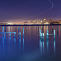 Dawn Colors - Sausalito Print by David Yu