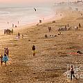 Day at the Beach - Sunset Huntington Beach California