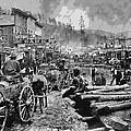Deadwood South Dakota C. 1876 by Daniel Hagerman