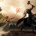 Death Knight And Fairy Queen by Daniel Eskridge