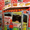 Decarie Hot Dogs Montreal by Michael Litvack