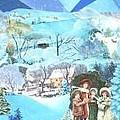 December Evening Landscape - Sold by Judith Espinoza