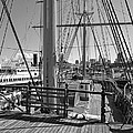 Deck Of Balclutha 3 Masted Schooner - San Francisco by Daniel Hagerman