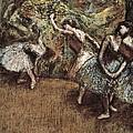 Degas, Edgar 1834-1917. Ballet Scene by Everett