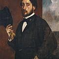 Degas, Edgar 1834-1917. Self-portrait by Everett