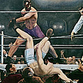 Dempsey V Firpo In New York City by George Wesley Bellows