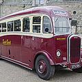 Dennis Lancet Vintage Bus by Steev Stamford