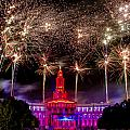 Denver Co 4th Of July Fireworks by Teri Virbickis