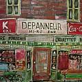 Depanneur Mi-ro by Michael Litvack