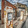Derelict Gas Station by Adrian Evans