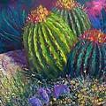 Desert Garden Print by Sharon Frey
