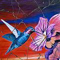 Desert Hummingbird - Study No. 1 by Steve Bogdanoff