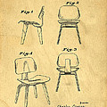 Designs For A Eames Chair by Edward Fielding