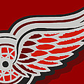Detroit Red Wings by Tony Rubino