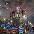 Detroit Riverwalk by Michael Rucker