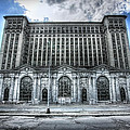 Detroit's Abandoned Michigan Central Train Station Depot by Gordon Dean II