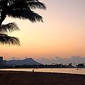 Diamond Head Sunrise - Honolulu Hawaii by Brian Harig