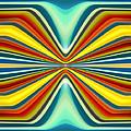 Digital Art Pattern 8 Print by Amy Vangsgard