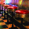 Diner - V2 by Wingsdomain Art and Photography