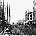 Downtown Dirt Spokane C. 1895 by Daniel Hagerman