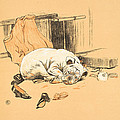 Disappointment At Not Finding The Chocolates by Cecil Charles Windsor Aldin
