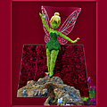 Disney Floral Tinker Bell 01 by Thomas Woolworth