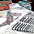 Doctor - Medical Instruments by Susan Savad