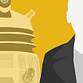 Doctor Who 50th Anniversary Poster Set Nineth Doctor Print by Jeff Bell