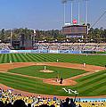 Dodger Stadium Panorama by Eddie Yerkish
