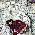 Doll On Bed by Joana Kruse