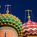 Domes Of Vasily The Blessed Cathedral - Feature 3 by Alexander Senin