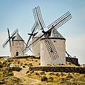Don Quixote's Windmills by Tetyana Kokhanets