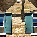 Door County Eagle Bluff Lighthouse Shutters by Christopher Arndt