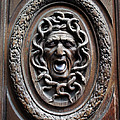 Door In Paris Medusa by A Morddel