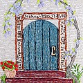 Door With Many Languages by Stephanie Callsen