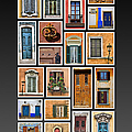 Doors And Windows Of Europe by David Letts