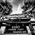 Dory Fishing Fleet Sign Picture In Newport Beach by Paul Velgos